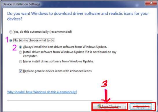 Cara update driver laptop dengan Windows Update