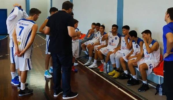 Νίκη του Οίακα Ναυπλίου επί του Ατρέα Μυκηνών για το Πρωτάθλημα Εφήβων