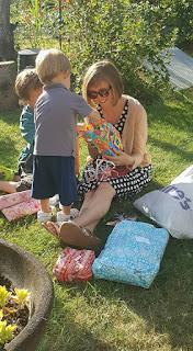 Fêter son anniversaire avec ses enfants