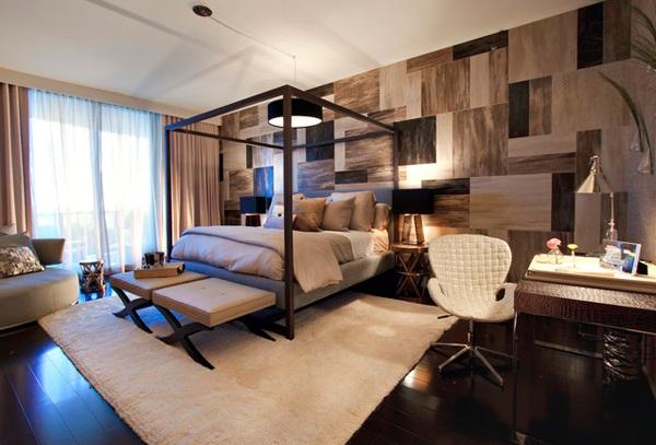 Kamar Tidur Maskulin Modern dan Kontemporer