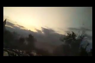 video longsor donggala