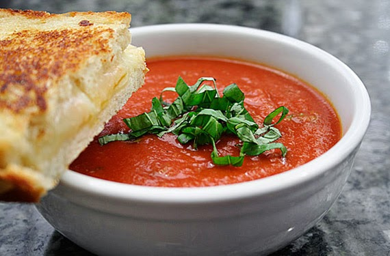Fresh Tomato And Basil Soup Recipe
