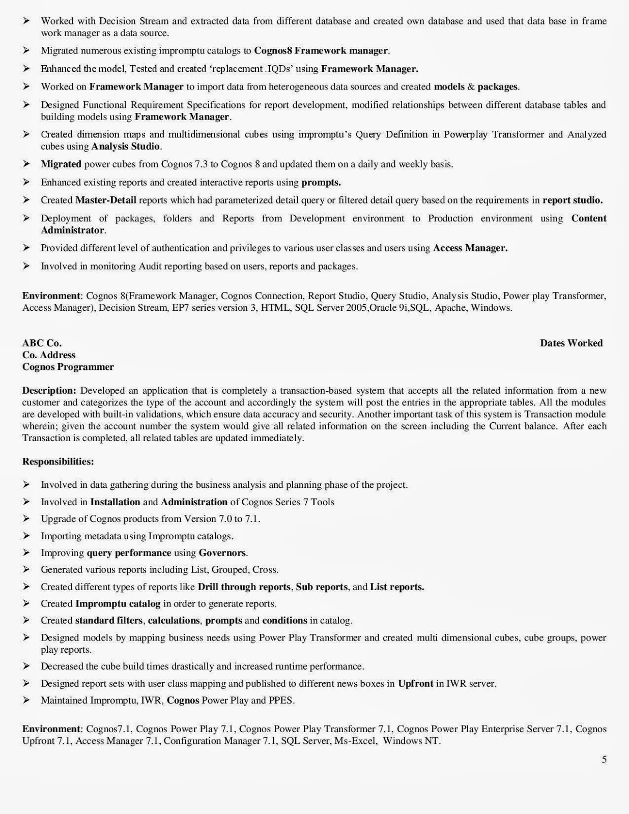 qa analyst resume india peoplesoft resume sample office