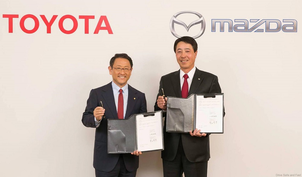 Mazda and Toyota establish joint-venture company