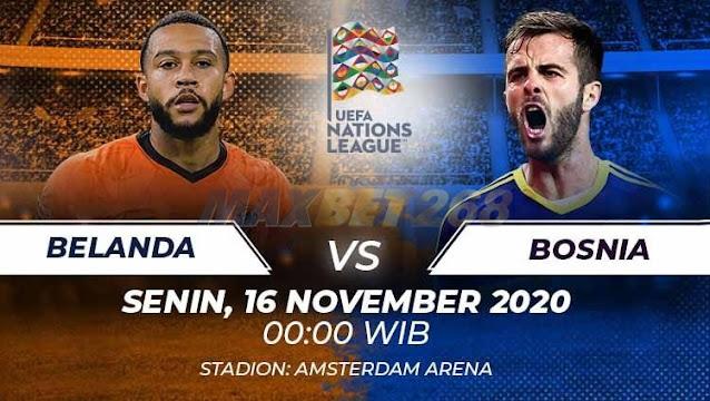 Prediksi Belanda Vs Bosnia Herzegovina, Senin 16 November 2020 Pukul 00.00 WIB @ Mola TV
