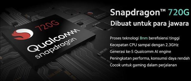 Setelah persaingan sengit di tingkat Snapdragon  Inilah HP Snapdragon 720G Termurah dan Terbaik Garansi Resmi