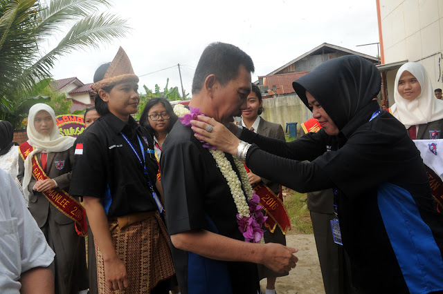 Wagub Ishak Mekki Buka Kejuaraan Pencak Silat Pelajar se-Kota Palembang