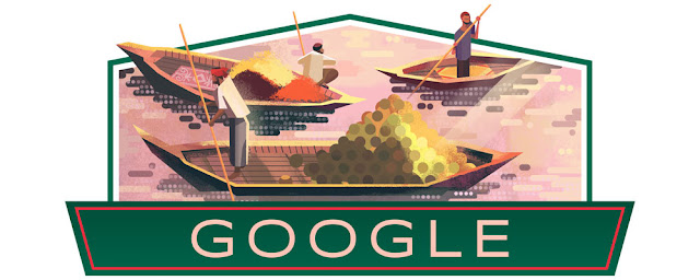 Google Doodle Celebrating Today, Bangladesh Independence Day 2019,Jpg