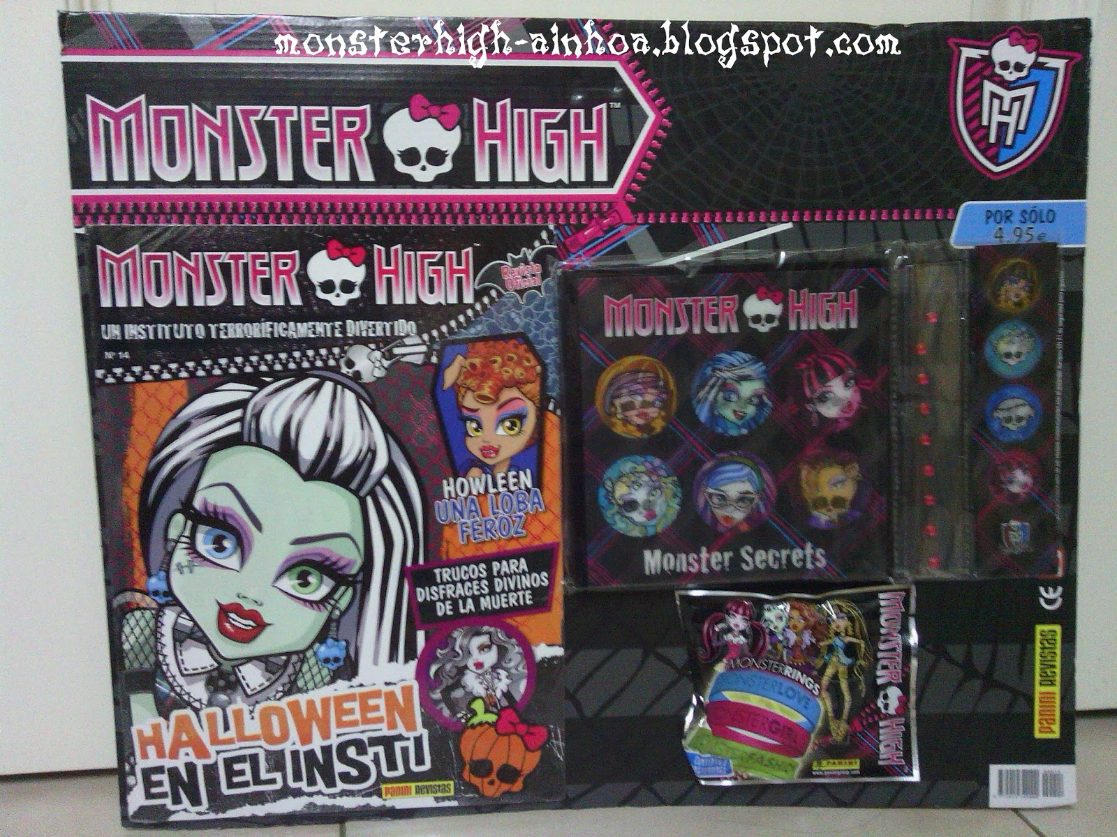 Monster High Libros Revista Monster High Nº14 Y Libro Especial Halloween