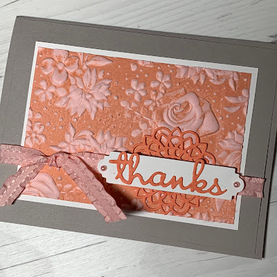 Stampin' Up! Country Floral Embossing Folder