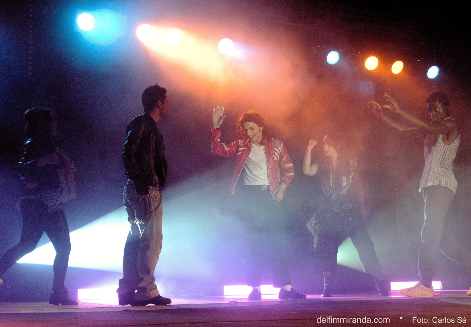 Delfim Miranda - Michael Jackson Tribute - Beat It - Acting on Stage