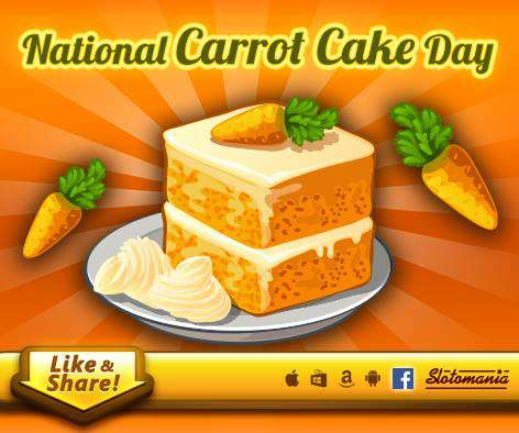 National Carrot Cake Day Wishes For Facebook