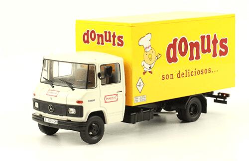 Mercedes-Benz L-407 D 1984 Donuts vehículos de reparto y servicio salvat