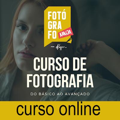 Curso Online de Fotografia Fotógrafo Ninja