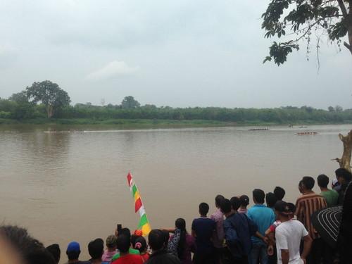 Lomba Bidar Desa Rantau Panjang Rebutkan Hadiah Jutaan Rupiah