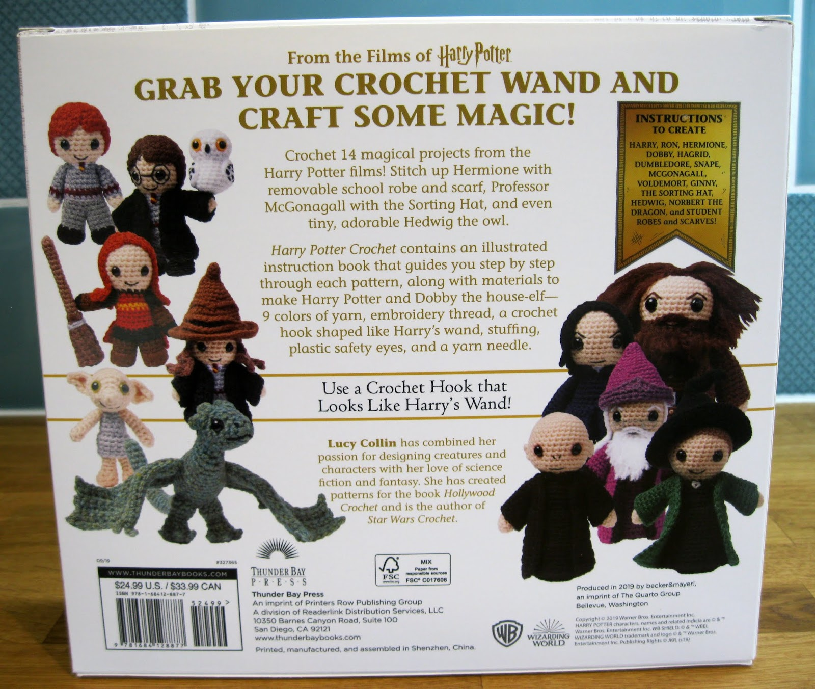 Musings of an Average Mom: Free Harry Potter crochet patterns | 1352x1600