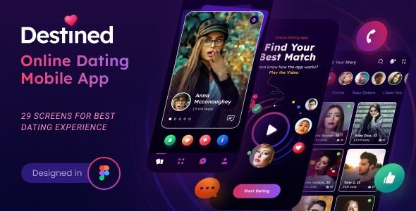 Best Dating App UI Figma Template