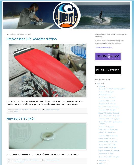 Chusma Surfboards