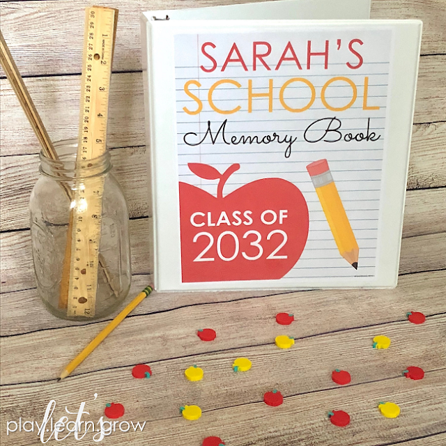 Free School Keepsake Memory Book