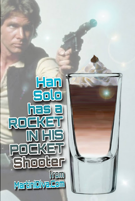 Han Solo Has A Rocket In His Pocket Shooter Star Wars Cocktail Recipe