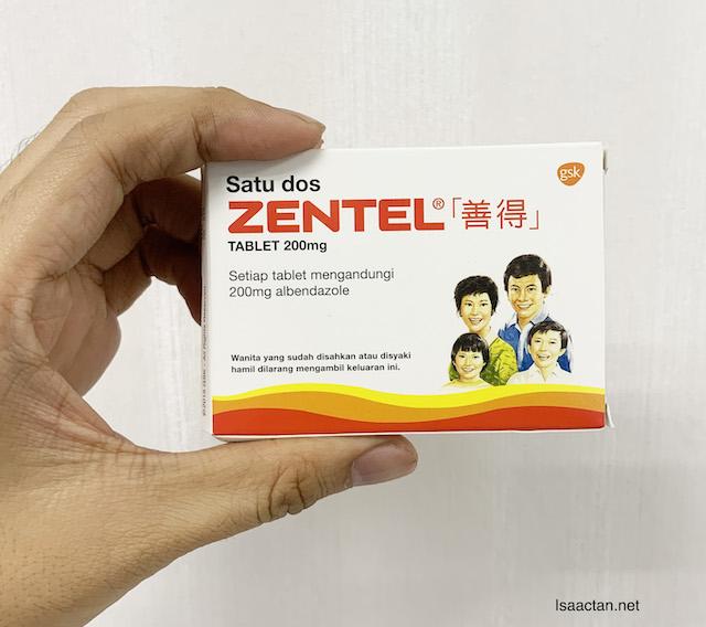 Introducing Zentel Tablets