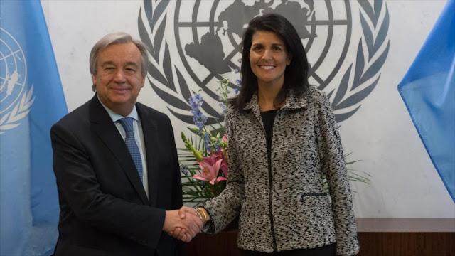 EEUU a la ONU: Vamos a mostrarles quién manda ahora aquí