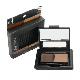 E.L.F. Cosmetics, Eyebrow Kit, Gel - Powder, Medium, 0.12 oz (3.5 g)  مكياج للحواجب من اي هيرب