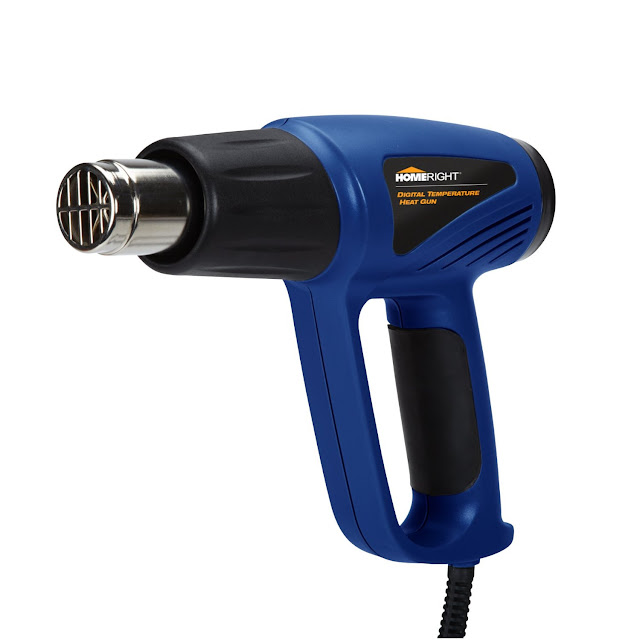 How to strip paint with a HomeRight heat gun