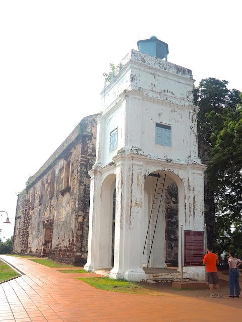 Ruins of St Paul's Church, Melaka, Malaysia