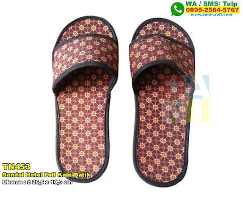 Sandal Hotel Full Kain Batik