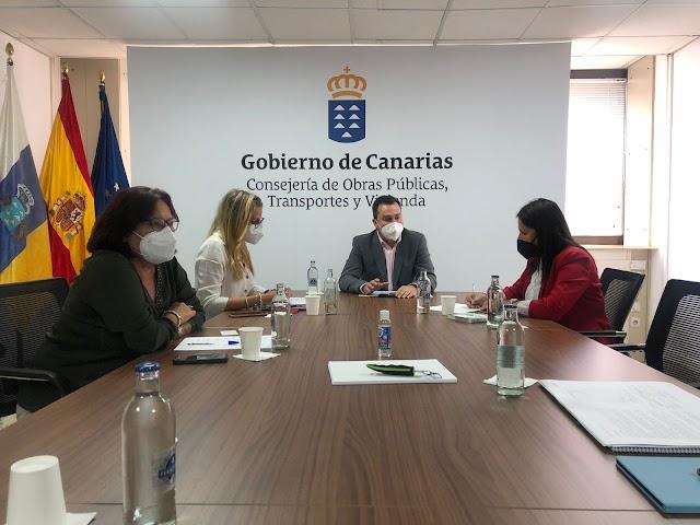 Fuerteventura.- Ayuntamiento de Tuineje y el Gobierno de Canarias avanzan en los detalles del proyecto para el puerto de Gran Tarajal