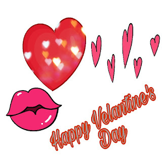 Heart Happy Valentine Day Image