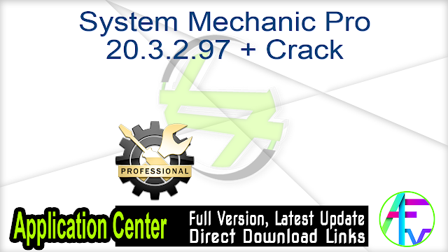 System Mechanic Ultimate Defense 19.1.1.46 + Crack