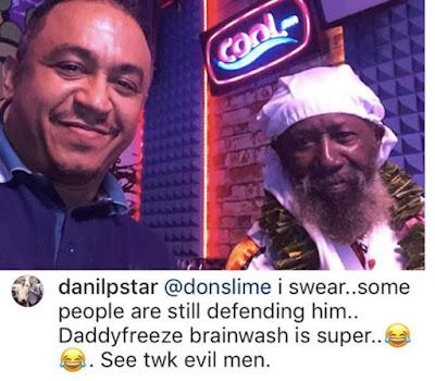 Daddy Freeze Slams Troll Who Blasted Him For Interviewing Guru Maharaj Ji