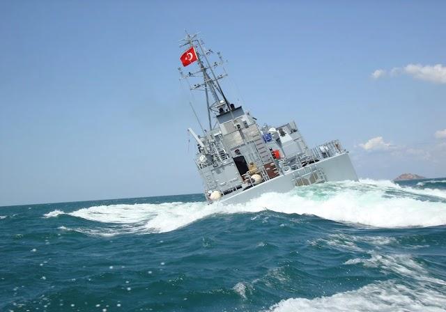 Νέες τουρκικές προκλήσεις με έκδοση NAVTEX νότια της Λέσβου