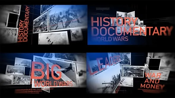 Videohive - History Documentary Timeline 24132599
