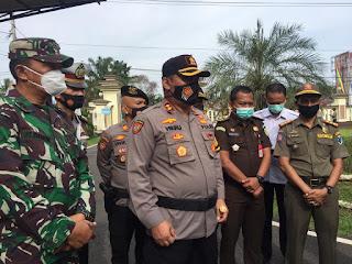 Polres Batanghari Gelar Operasi Lilin , Dalam Rangka Pengamanan Sambut Perayaan Hari Natal Dan Tahun Baru