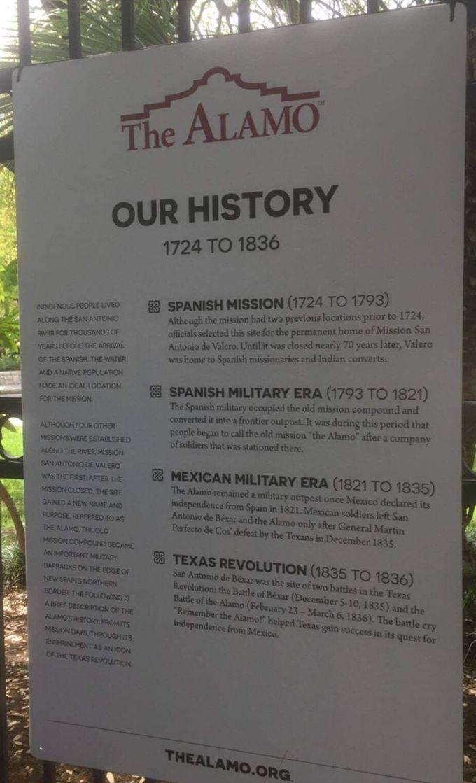 Alamo Missions history