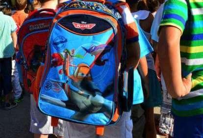 3f4aaa1084 Για 2η σχολική χρονιά εφαρμόζεται στα Δημοτικά Σχολεία η δράση «Η τσάντα  στο σχολείο» - Greek Web TV Live