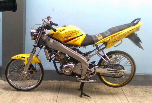 Modifikasi Motor Yamaha Vixion Velg JariJari  Koleksi
