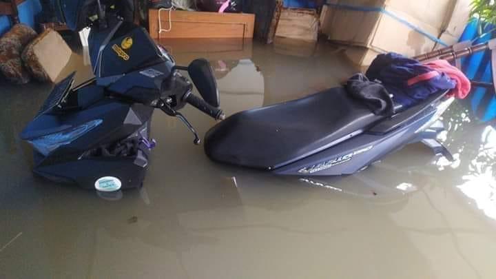 Tips Motor mogok karena melewati banjir