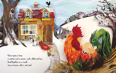 The Little Red Hen l Barefoot Books-LadyD