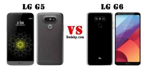 Perbedaan LG G6 VS G5
