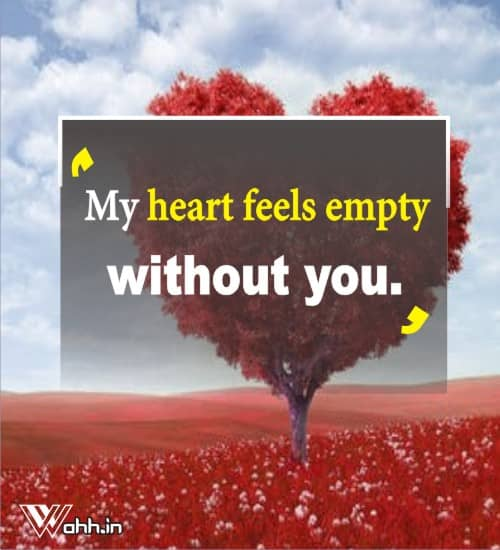 My-heart-feels-empty-without-you.