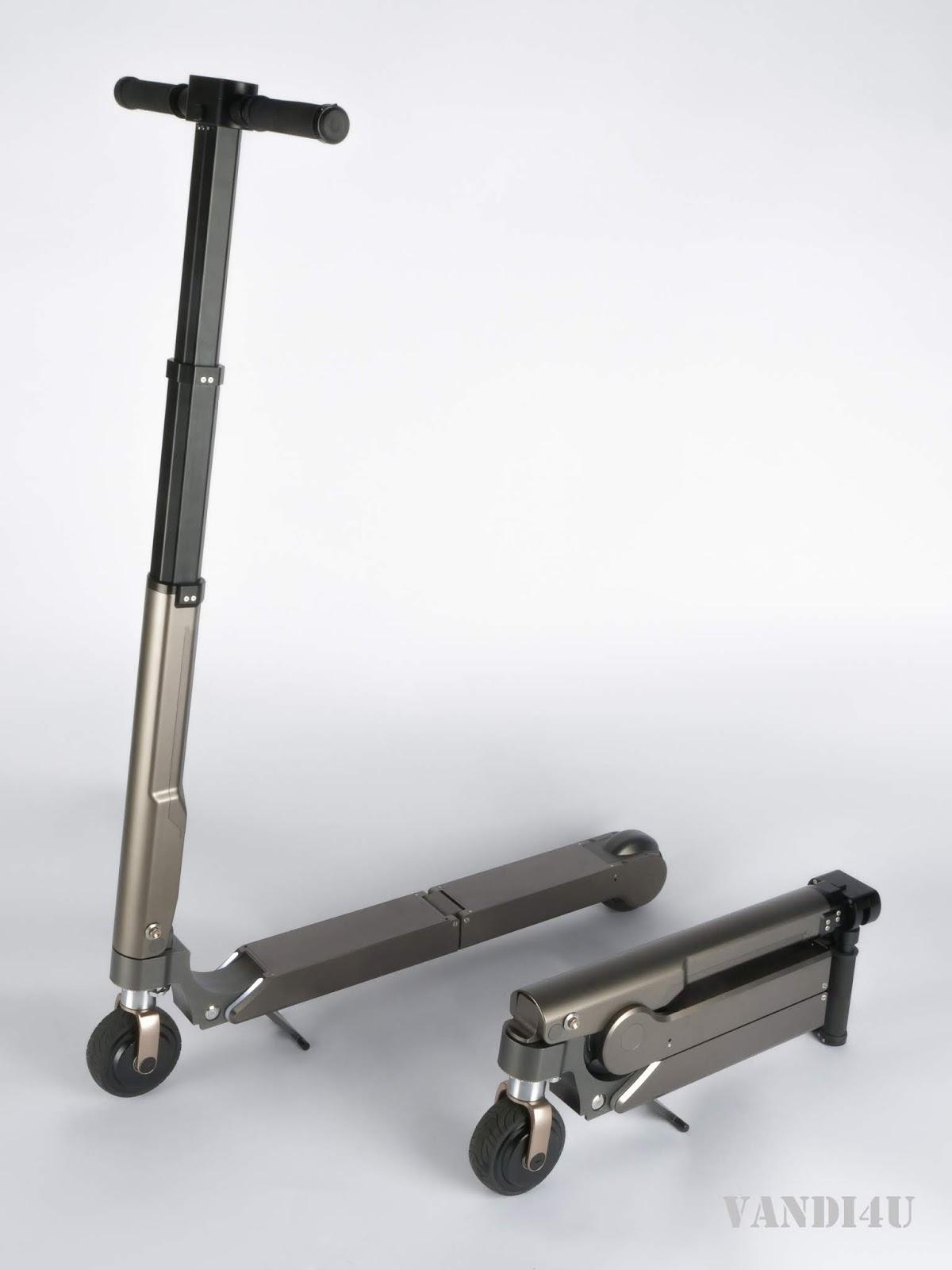 Soon Hyundai And Kia Models Will Get An Personal Electric Scooter   VANDI4U