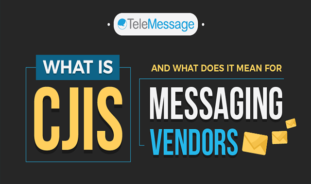 What is Cjis And What Does It Mean For Messaging Vendors #infographic