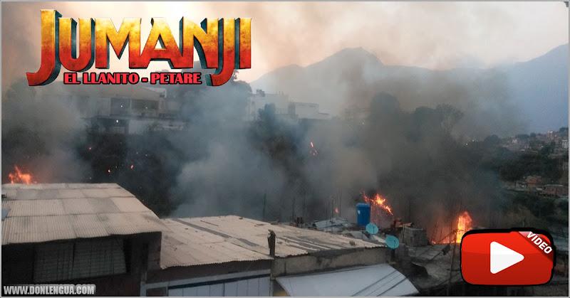 Enorme incendio en la Zona Industrial de El Llanito y los bomberos no llegan