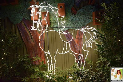 Illuminated Horse Bronx Zoo Holiday of Lights 2019, Horse, Horses
