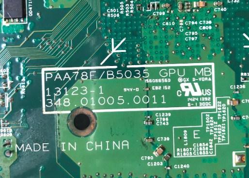 13123-1 348.01005.0011 Bios Lenovo B50-35 All-in-One