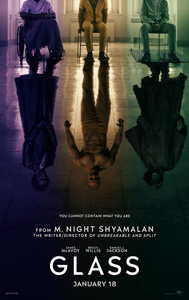 Mystery, Thriller, Glass, James McAvoy, Bruce Willis, Movie Review by Rawlins, Samuel L. Jackson, Klips Malaysia,